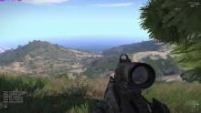 ARMA 3 maps have a ton of hills and mountains for some interesting gameplay.