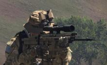 You can get mods for ARMA 3 that add more interesting weapons to the game.