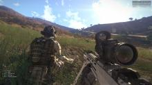 Firefights in ARMA 3 often occur in open grounds.