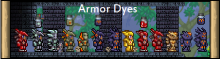 Sometimes, the best way to get the most of your armor is to add some dyes!