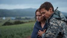 Amy Adams and Jeremy Renner reeling from the events in Arrival