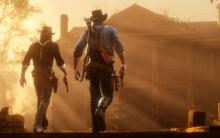 Arthur & John on their way to clear Shady Belle from those damned Raiders.