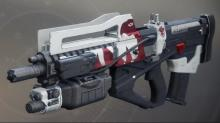 The pulse rifle able to fire at the speed of an auto rifle obtainable after completing a lengthy quest.