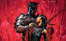 One of the oldest stories of a spellcaster having an intimate relationship with a demon lord.