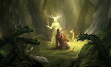 The forces of nature and the Fey could also be the source of your power.