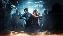 These two will fight off zombies to try and save Raccoon City.