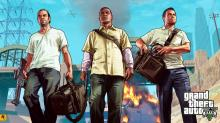 Play one of the three title characters in San Andreas.