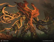 Legendary elemental of Zendikar