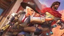 Ashe shows her true feelings for McCree with a punch to the face