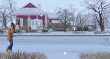 Make sure to bundle your Sim up when Winter rolls around!