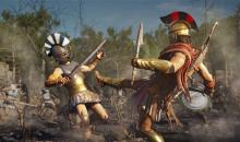 Take part in conquest battles as either Sparta or Athens.