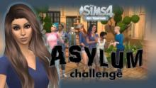 <The Sims 4>-<The Asylum Challenge>