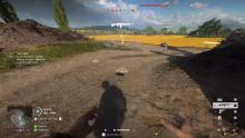 A player chooses a choke-point to mine after spotting a heavy tank.