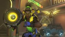 Lucio and Mercy Rushing into Battle