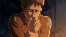 After seeing all those deaths, Jean too is shaken