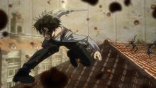 Okay last Levi pic. This is him destroying an entire platoon of enemies. A beast, I tell you.