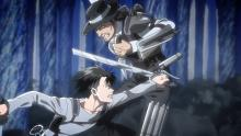 These two Ackermans go toe to toe in an epic duel