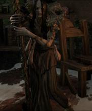 Alyxe is a hag alchemist found east of Gil-Var-Delle Wayshrine in Grahtwood