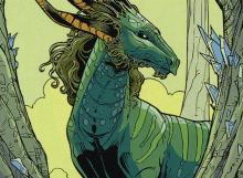 A combo enabling mutating beast from Ikoria