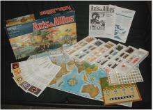 Contents of the Axis and Allies box