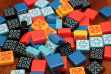 Tile pieces of the game