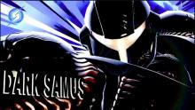 Dark Samus's victory screens are super aesthetic.