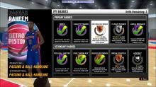 Each archetype has a set of badges to earn. Max these out to dominate the league