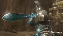 Baihu Genji preparing for a fight