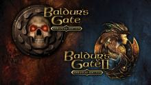 The cover of baldur's gate remastered