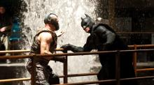 Watch and see if Bane will break Batman or not