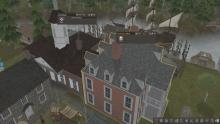 The Courthouse and the Governor's Office make sure of law and order in Banished.