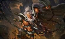 Their fury causes them to be able to use feats of speed in combination with their melee attacks.