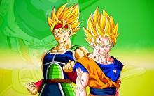 Dbz, Bardock, Goku