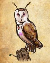 Barn Owl Familiar