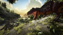 Baryonyx and Raptor vs T-Rex