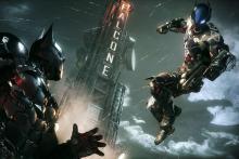 Batman going 1v1 with his foe- Arkham Knight