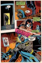 Batman is knocked unconscious by Bane who is not as strong as Spiderman.