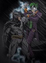 Batman isn't a stranger to fighting clowns.