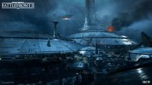 The view of the battle of Kamino.