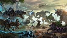 Tek vs Corrupt Battle on Extinction
