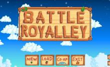 For all you Battle Royale style fans out there, yes there is a battle royale mod for Stardew Valley.
