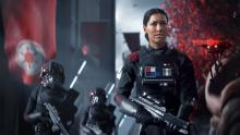 You may recognize Janina Gavankar as the main character in Battlefront 2.