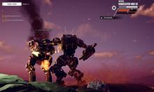 Giant robot combat!