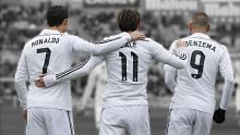 Bale, Benzema and Ronaldo destroyed teams for Real Madrid.
