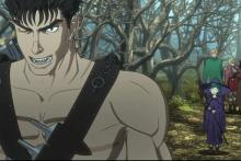 Guts, Anime version
