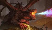 a core set dragon that makes tokens