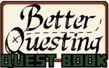 Visual of the better questing mod book