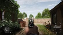 Just look at how blurry the weapon is, this can really interfere with aiming and some people (myself included) find it hard on the eyes.