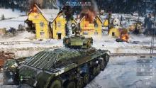 A Valentine Medium Tank ferries players despite having vacancy.