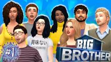<The Sims 4>-<Big Brother House Challenge>